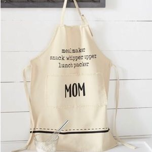 Mud Pie Other - Mud Pie Mom Apron NWT